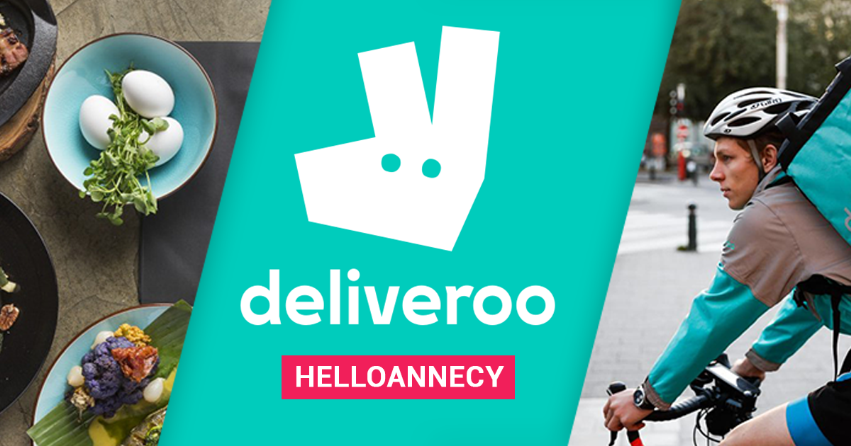 nouveau deliveroo livre les restos d 39 annecy domicile. Black Bedroom Furniture Sets. Home Design Ideas