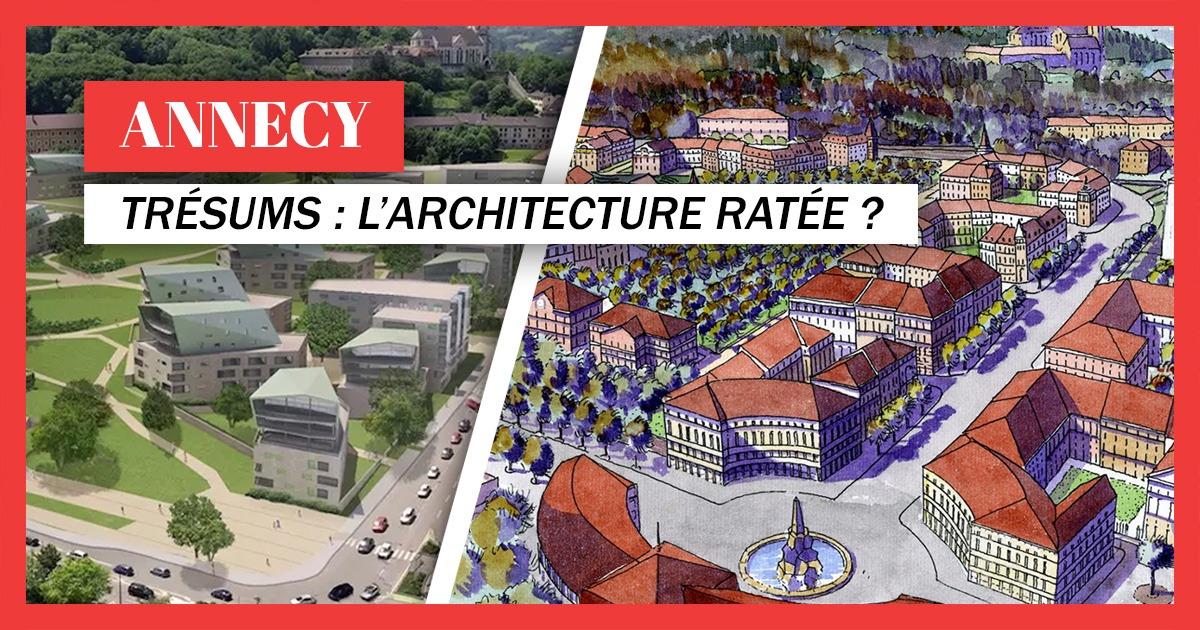 Architecture ratée du site des Trésums