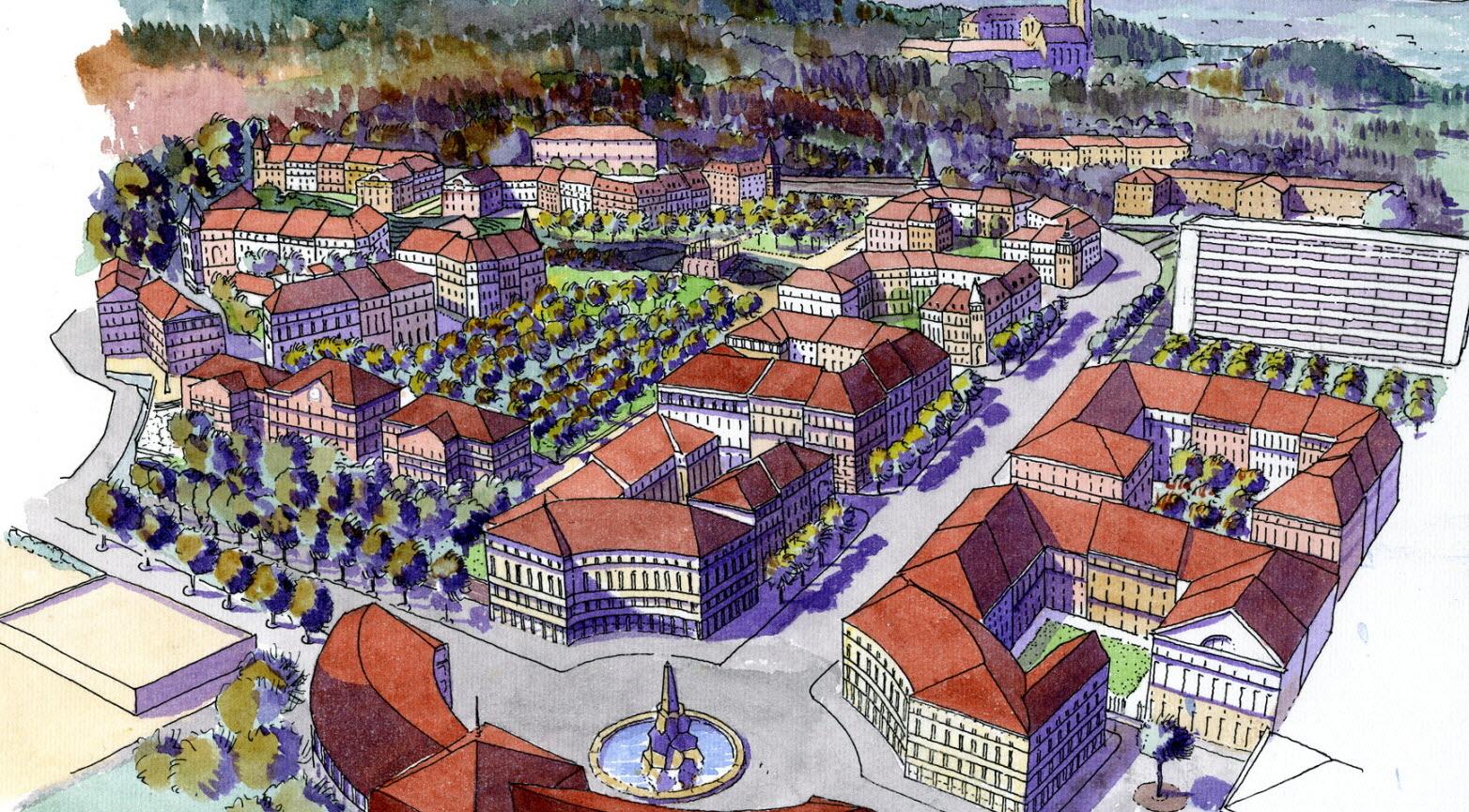 Projet alternatif d'architecture des TRésums à Annecy
