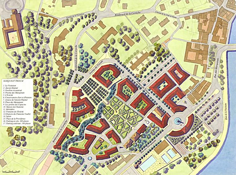 Plan du projet alternatif des Trésums d'Annecy